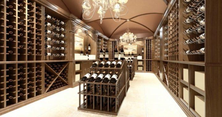 Unique Custom Wine Cellar